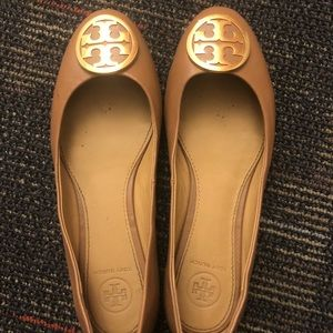 Leather Tori Butch Ballet Flat